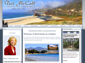 Real Estate in Cambria Home Page