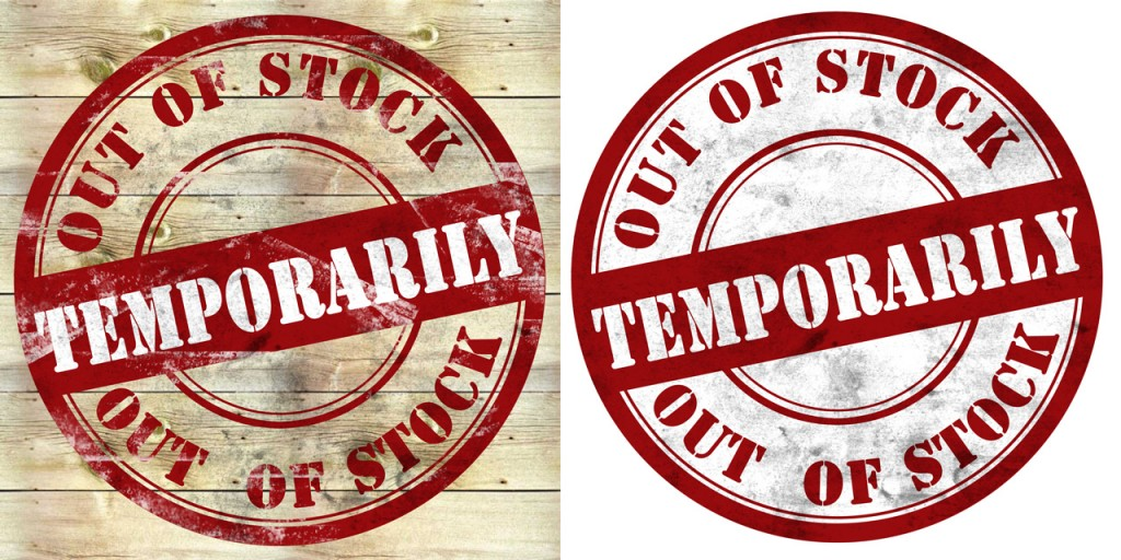 Termorarily Out of Stock