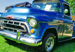Chevy Apache in Blue