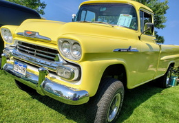 Chevy Apache in Yellow