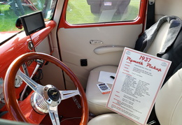 1937 Plymouth Truck Leather Interiour