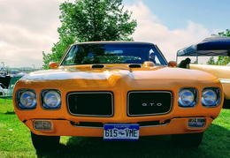 1969 Pontia GTO in Orange