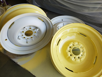 Vintage Dodge Steel Wheels