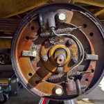 1950 Dodge b2b Left Rear Brakes