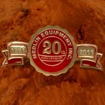 Celebrating 20 Years Gold Foil Seal