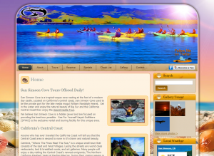 Kayak Outfitters for Kayaking Tours Home Screenshot