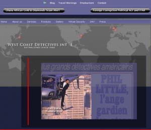 West Coast Detectives Screenshot