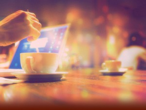 Coffe Cup Background