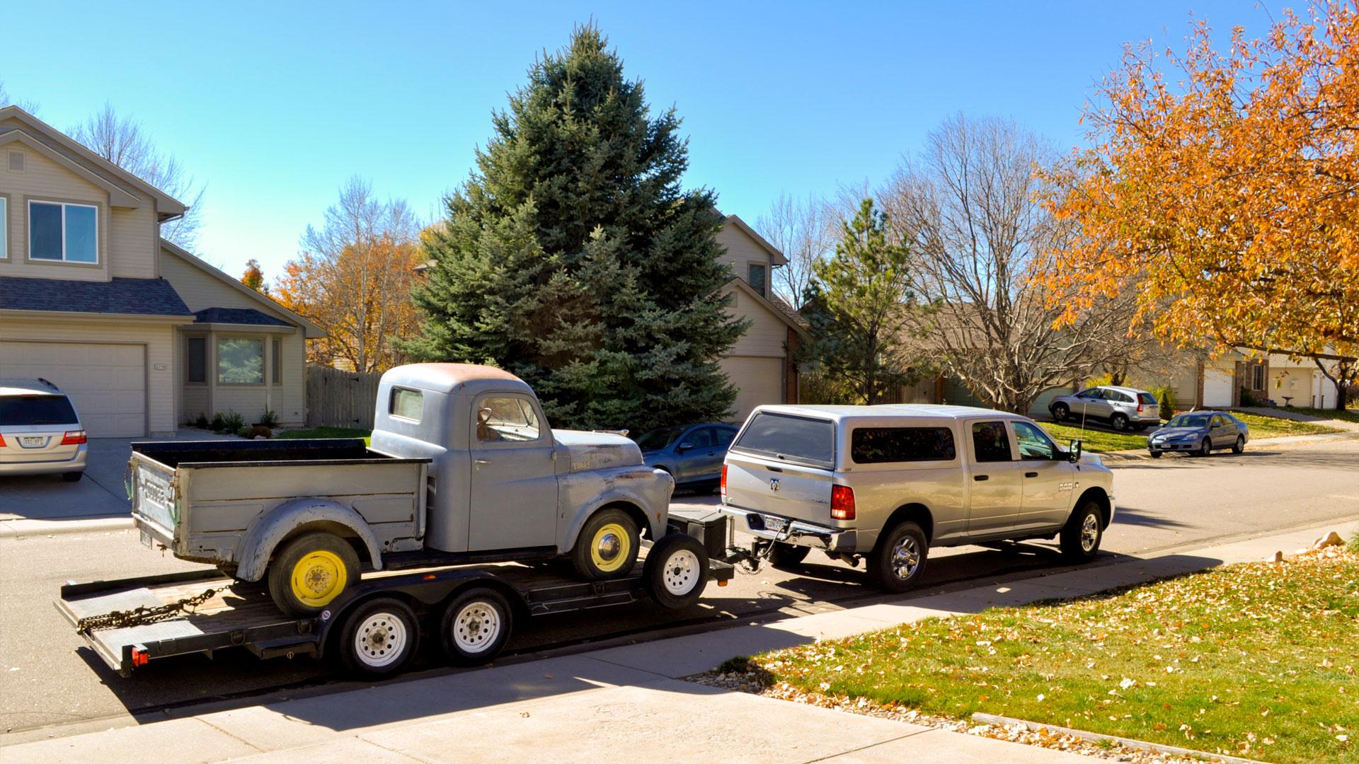 Arrival of Roxanne - Dodge B2B Pilothouse