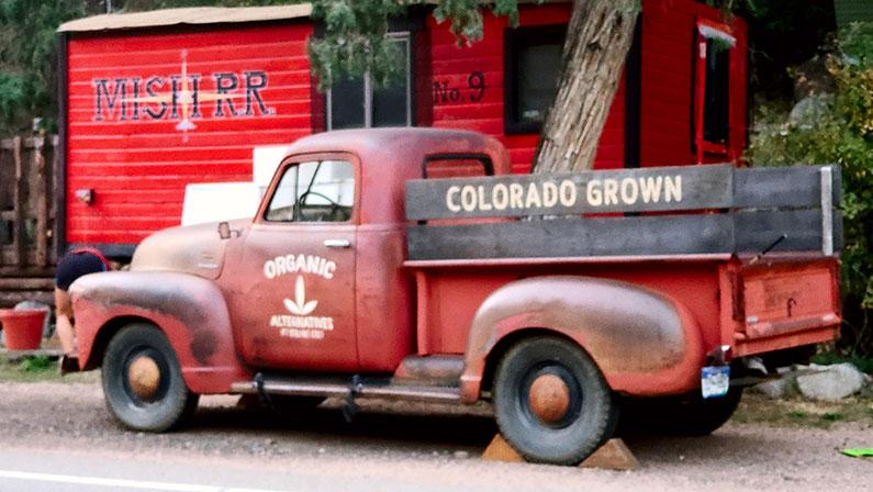 Chevy Truck circa 1950