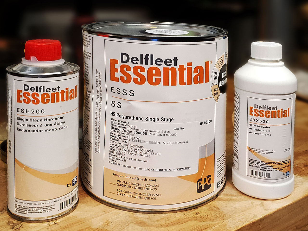 Delfleet Essential Paint - soft yellow