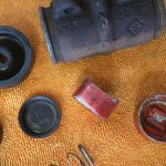 Drivers Side Wheel Cylinder Exploded View