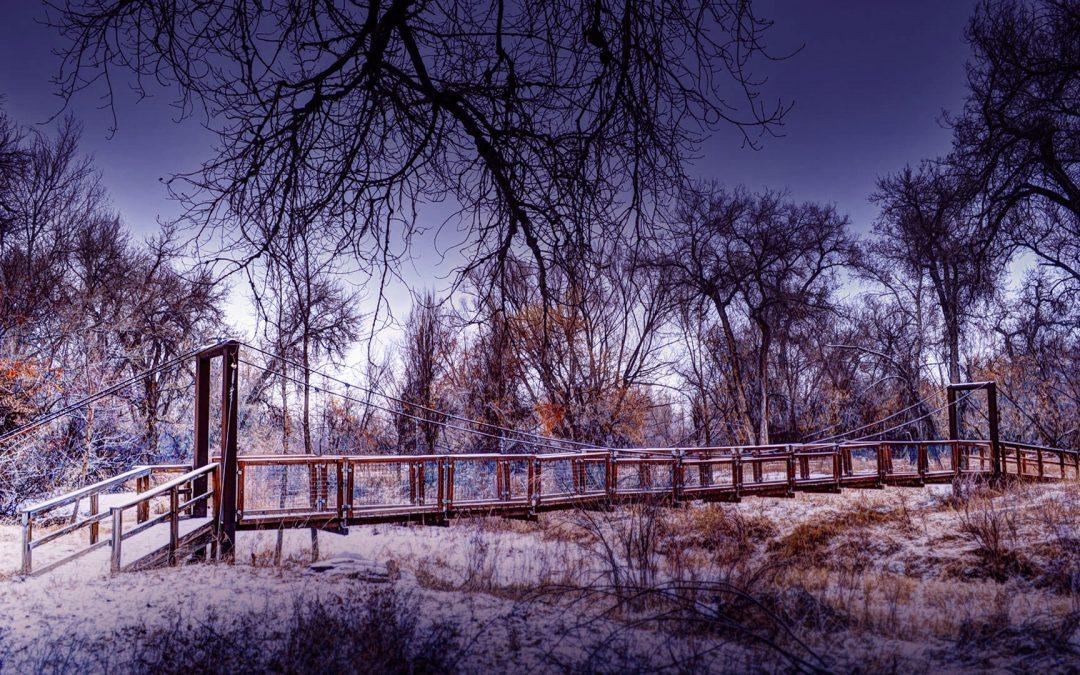 ELC Suspension Bridge – Winter