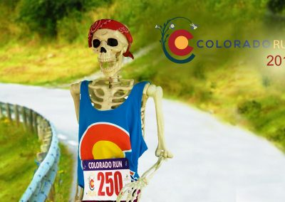 Larry Downhill at the Colorado Run 10K