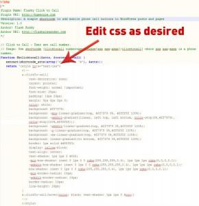 Plugin Editable Styles
